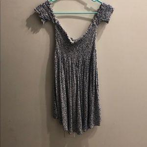 over the shoulder dress